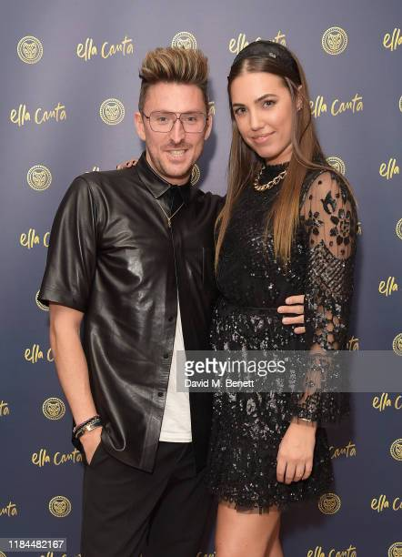 Henry Holland and Amber Le Bon attend Ella Canta's Day of the Dead celebration on October 30 2019 in London England