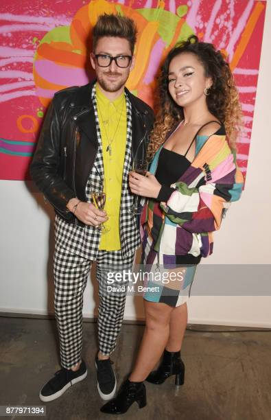 Henry Holland and Ella Eyre attend an intimate dinner hosted by Henry Holland and Andrew Nugent to celebrate the House of Holland Resort 18...
