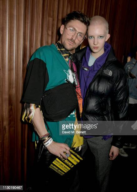 Henry Holland and Finn Buchanan attend the House of Holland AW19 LFW after party celebrating the 2019 House of Holland x Vype collaboration for the...