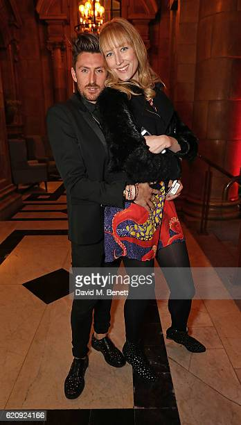 Henry Holland and Jade Parfitt arrive at The Principal Manchester for the STYLE x PRINCIPAL Party on November 3 2016 in Manchester England