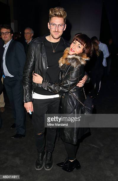 Henry Holland and Jaime Winstone attends the World Premiere of the new MINI at Old Sorting Office on November 18 2013 in London England