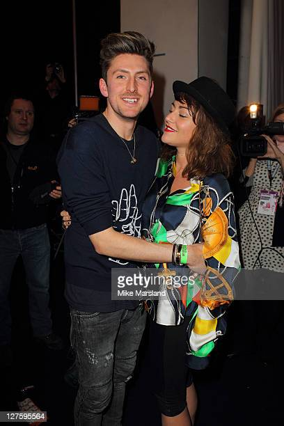 Henry Holland and Jaime Winstone seen at the at the House of Holland show at London Fashion Week Autumn/Winter 2011 on February 19 2011 in London...