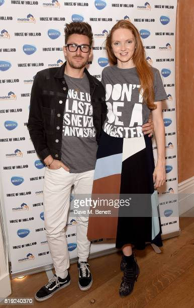 Henry Holland and Lily Cole launch of BRITA's #SwapForGood campaign to drive awareness of the 15 million plastic water bottles used in the UK each...