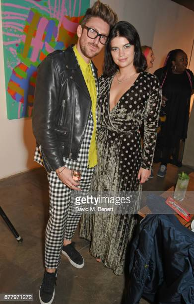 Henry Holland and Pixie Geldof attend an intimate dinner hosted by Henry Holland and Andrew Nugent to celebrate the House of Holland Resort 18...