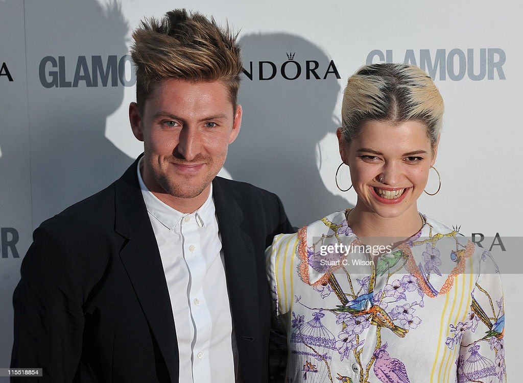 Henry Holland and Pixie Geldof attend Glamour Women Of The Year Awards at Berkeley Square Gardens on June 7, 2011 in London, England.