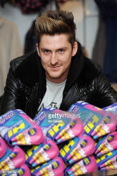 Henry Holland appears at a photocall to launch his new 'H by Henry Holland' fashion line at Debenhams Oxford Street on March 17 2010 in London England