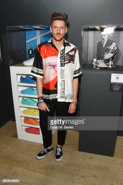 Henry Holland attends adidas 'Prouder' A Fat Tony Project in aid of the Albert Kennedy Trust supporting LGBT youth at Heni Gallery Soho on July 3...