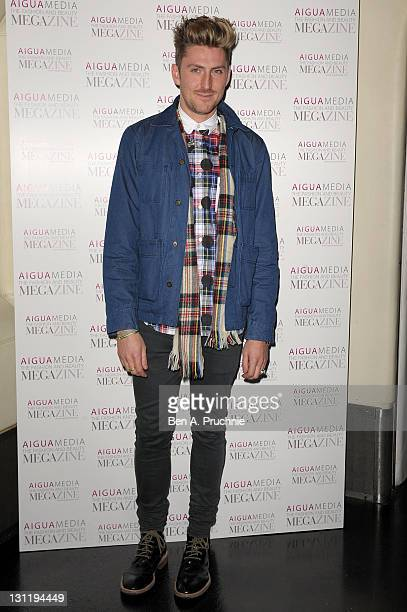 Henry Holland attends Aigua Media's Fashion and Beauty Megazine launch party at Sketch on November 2 2011 in London England