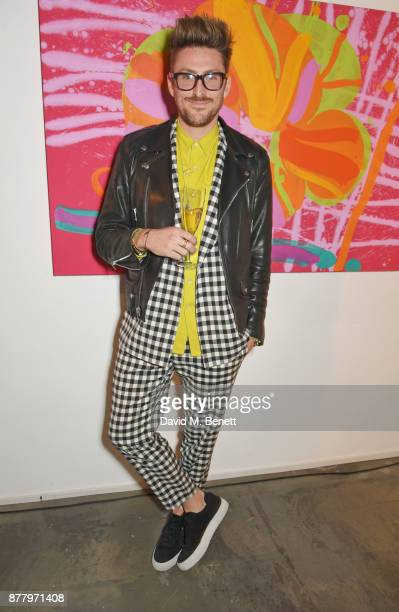 Henry Holland attends an intimate dinner hosted by Henry Holland and Andrew Nugent to celebrate the House of Holland Resort 18 collection and Bird In...