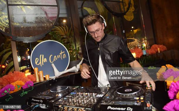 Henry Holland attends Ella Canta's Day of the Dead celebration on October 30 2019 in London England