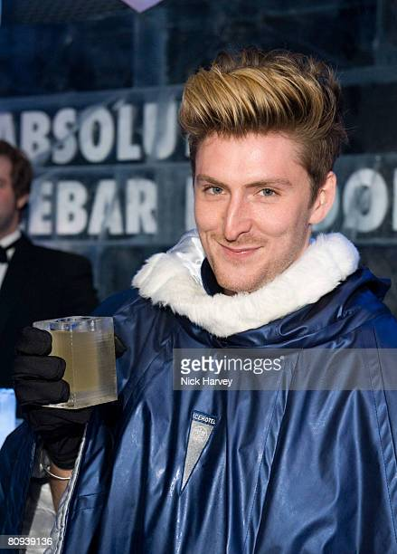 Henry Holland attends the Absolut Icebar Relaunch Party at the Absolut Icebar on April 30 2008 in London England