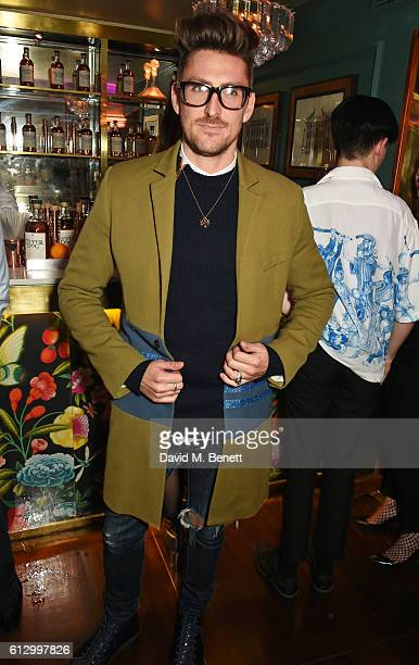 Henry Holland attends the Another Man A/W launch event hosted by Harry Styles Alister Mackie and Kris Van Assche at Albert's Club on October 6 2016...