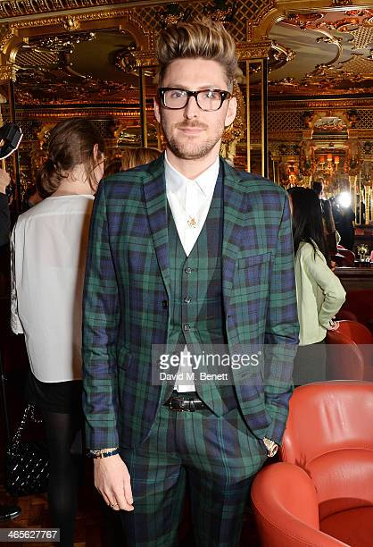 Henry Holland attends the BFC/Vogue Fashion Fund winner's announcement at the Cafe Royal on January 28 2014 in London England