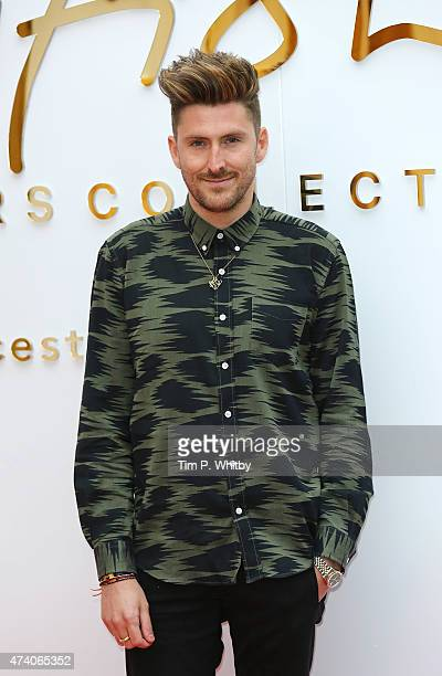 Henry Holland attends the British Design Collective press launch at Bicester Village on May 20 2015 in Bicester England