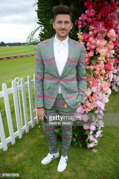 Henry Holland attends the Cartier Queen's Cup Polo Final at Guards Polo Club on June 17 2018 in Egham England