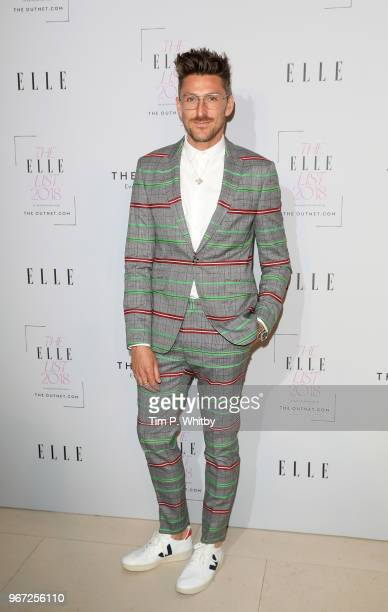 Henry Holland attends The ELLE List 2018 at Somerset House on June 4 2018 in London England