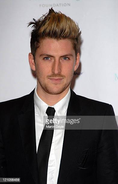 Henry Holland attends The Emeralds Ivy Ball hosted by Ronan Keating for Cancer Research UK sponsored by Anglo Irish Bank at The Old Billingsgate Fish...