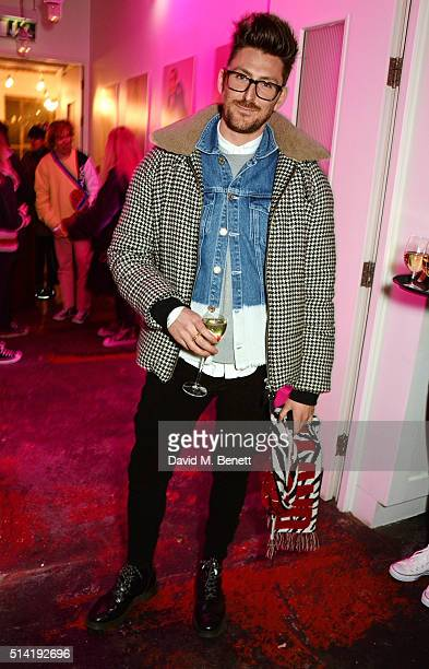 Henry Holland attends the ES Magazine 'Young London' party with Converse at Bistrotheque on March 7 2016 in London England