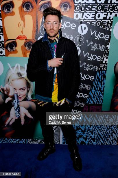 Henry Holland attends the House of Holland AW19 LFW after party celebrating the 2019 House of Holland x Vype collaboration for the Vype ePen 3 at The...
