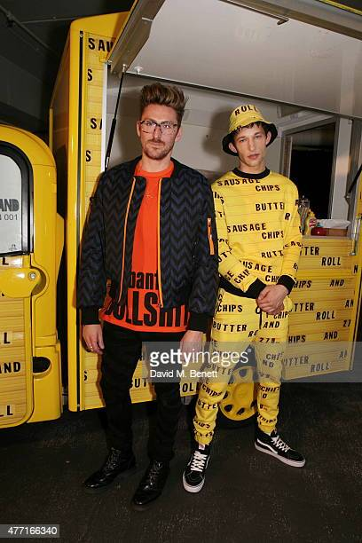 Henry Holland attends the House of Holland presentation during London Collections Men SS16 on June 14, 2015 in London, England.