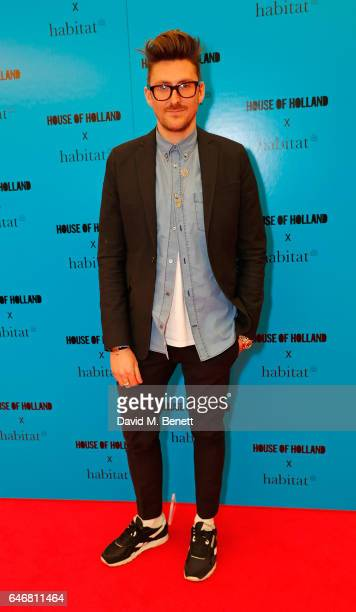 Henry Holland attends the launch of House Of Holland x Habitat at Habitat on March 1 2017 in London England