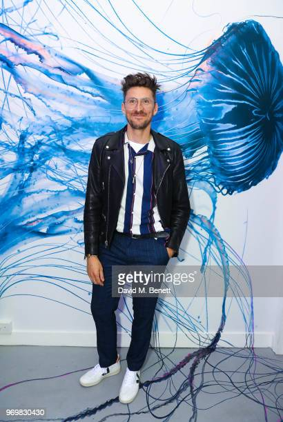 Henry Holland attends the launch of Sky Ocean Rescue's 'Pass On Plastic Experience' on June 8 2018 in London England