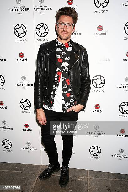 Henry Holland attends the launch of Zebrano Restaurant on November 4 2015 in London England