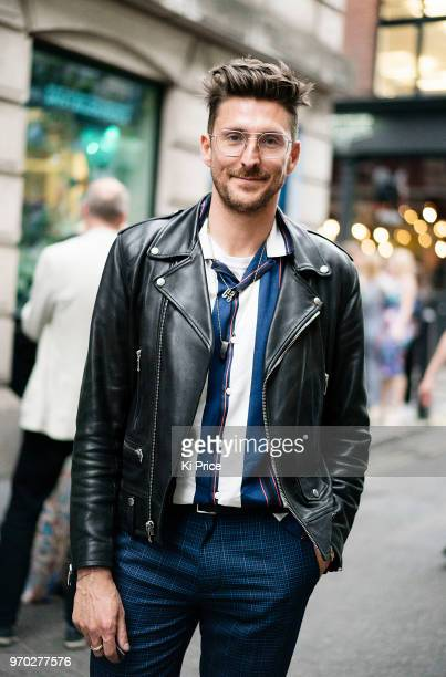 Henry Holland attends the launch party of Pass on Plastic a pop up ocean experience that opens From 824 June at 20 Beak Street in London England