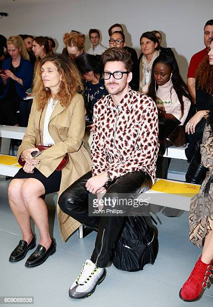 Henry Holland attends the Oliver Spencer show during London Fashion Week Spring/Summer collections 2017 on September 20 2016 in London United Kingdom