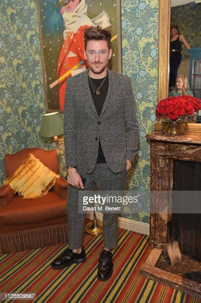 Henry Holland attends the Victoria Beckham x YouTube Fashion Beauty after party at London Fashion Week hosted by Derek Blasberg David Beckham at...