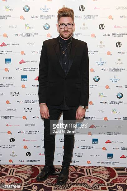 Henry Holland attends the WGSN Global Fashion Awards 2015 at Park Lane Hotel on May 14 2015 in London England