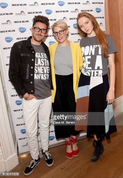 Henry Holland Emma Gannon and Lily Cole launch of BRITA's #SwapForGood campaign to drive awareness of the 15 million plastic water bottles used in...