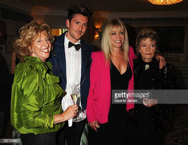 Henry Holland , Jo Wood and guests attend the English National Ballet Cocktail Reception at The Dorchester on June 15, 2010 in London, England.