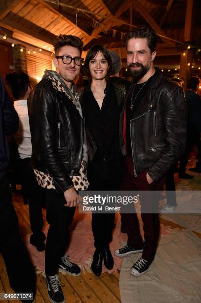 Henry Holland Sam Rollison and Jack Guinness attend an intimate Emeli Sande performance in Shoreditch to launch Airbnb Music Experiences with Sofar...