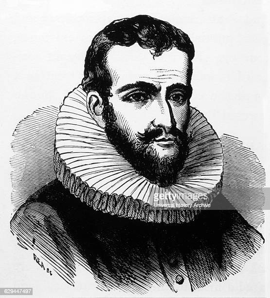 Henry Hudson English Sea Explorer and Navigator in the Early 17th Century Portrait