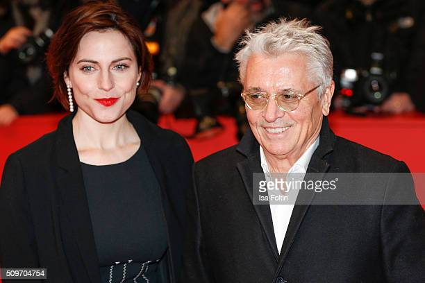 Henry Huebchen and Antje Traue attend the 'Hail Caesar' Premiere during the 66th Berlinale International Film Festival on February 11 2016 in Berlin...