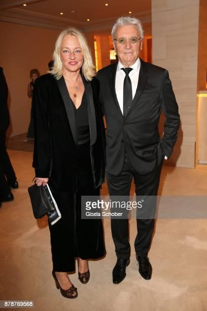 Henry Huebchen and his daughter Franziska Huebchen during the 66th 'Bundespresseball' at Hotel Adlon on November 24 2017 in Berlin Germany