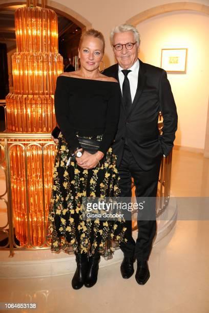 Henry Huebchen and his daughter Franziska Huebchen during the 67th Bundespresseball at Hotel Adlon on November 23 2018 in Berlin Germany