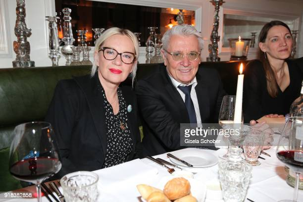 Henry Huebchen during the FreundeskreisDinner at Restaurant Grace in the Hotel Zoo on February 14 2018 in Berlin Germany On the occasion of the 68...