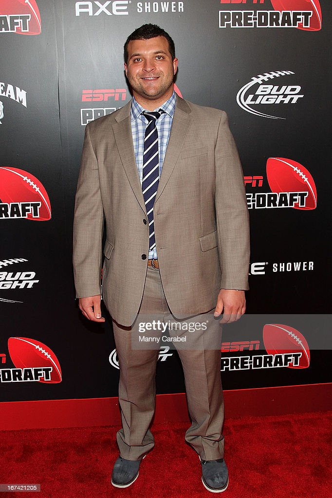Henry Hynoski attends the ESPN The Magazine 10th annual Pre-Draft Party at The IAC Building on April 24, 2013 in New York City.