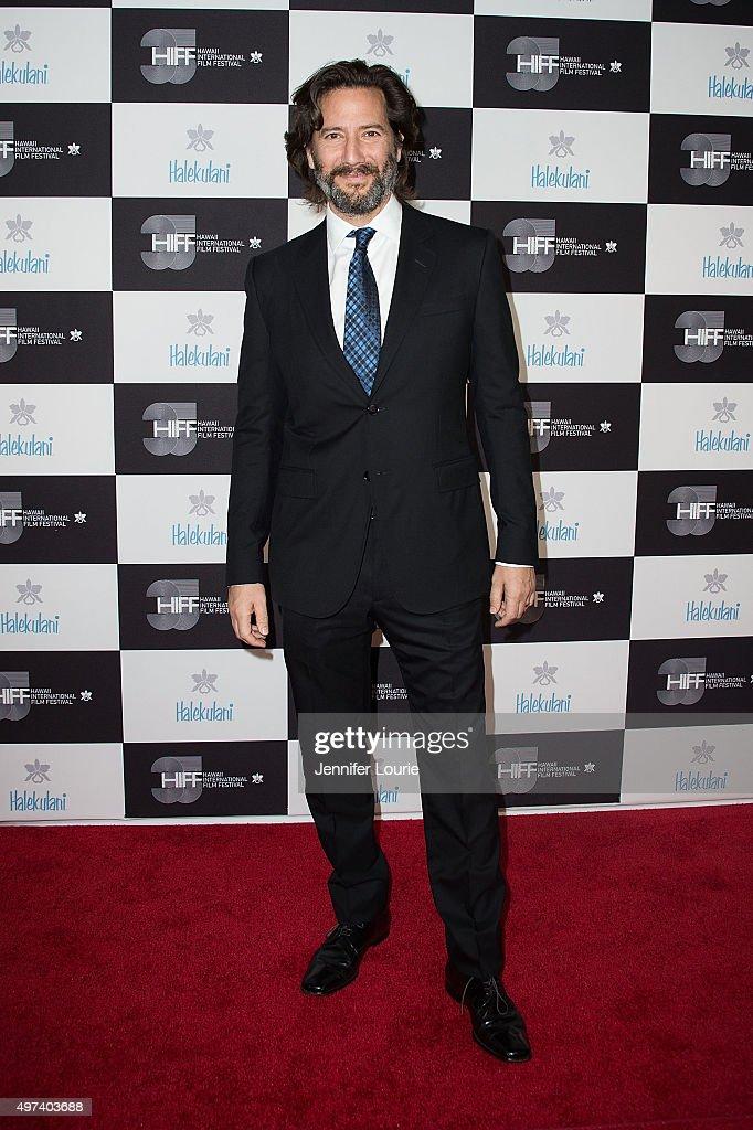 Henry Ian Cusick arrives at the 2015 Hawaii International Film Festival Awards Gala on November 15, 2015 in Honolulu, Hawaii.