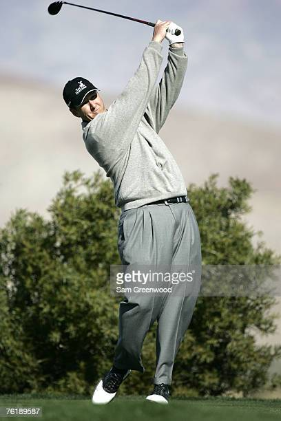 JJ Henry in action during the second round of the Bob Hope Chrysler Classic held at The Classic Club in Palm Desert California on Thursday January 19...