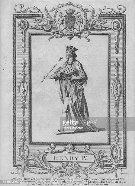 Henry IV' 1783 After Samuel Wale From New Complete and Authentic History of England by Edward Barnard [Alex Hogg London 1783] Artists Samuel Wale...