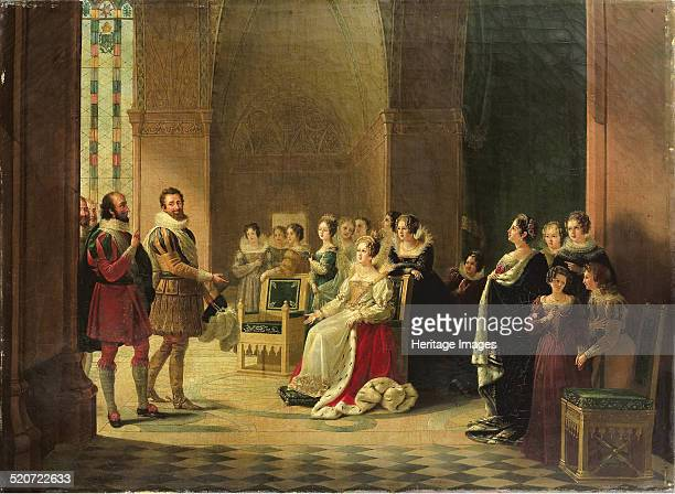 Henry IV and Catherine de' Medici. Private Collection.