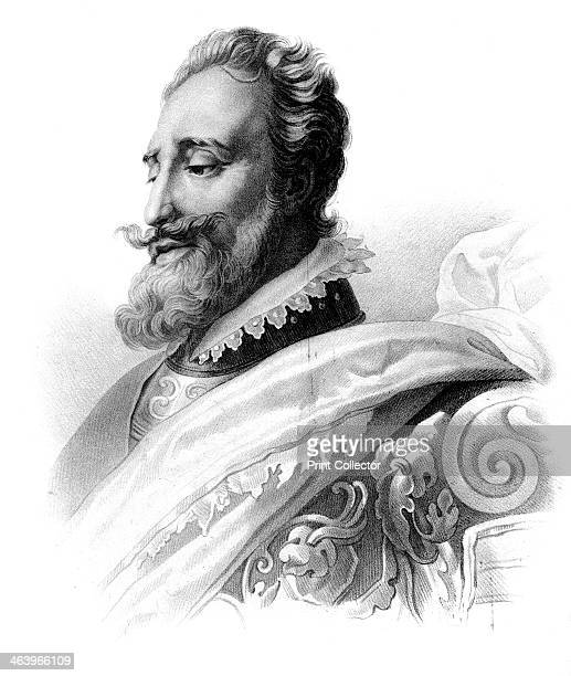 Henry IV, King of France. Henry became King of Navarre in 1572 and ascended the French throne in 1589. A Protestant, he fought in the French Wars of...