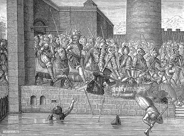 Henry IV of France entering Paris 22 March 1594 Henry became King of Navarre in 1572 and ascended the French throne in 1594 A Protestant he fought in...