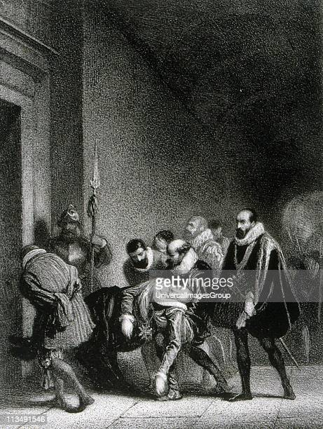 Henry IV,King of France and Navarre First Bourbon monarch,son of Jeanne d'Albret and husband of Marie de Medici. Assassinated by Roman Catholic...