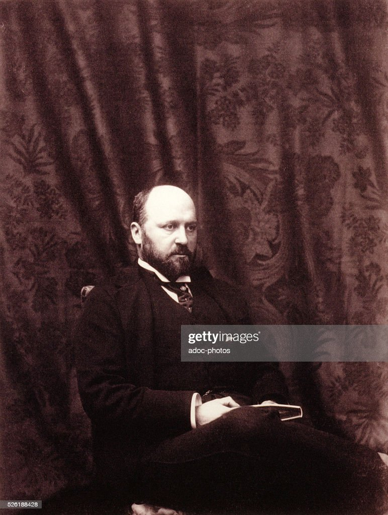 Henry James (1843-1916), English American-born writer. Ca. 1890.
