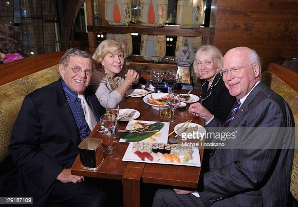 Henry Jarecki Gloria Jarecki Marcelle Pomerleau Leahy and US Senator Patrick Leahy attend the 2011 Directors Guild Of America Honors after party at...