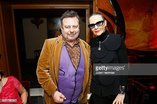 Henry Jean Servat attends his book signing with Maryse Gaspard at Maxim's on January 26 2017 in Paris France